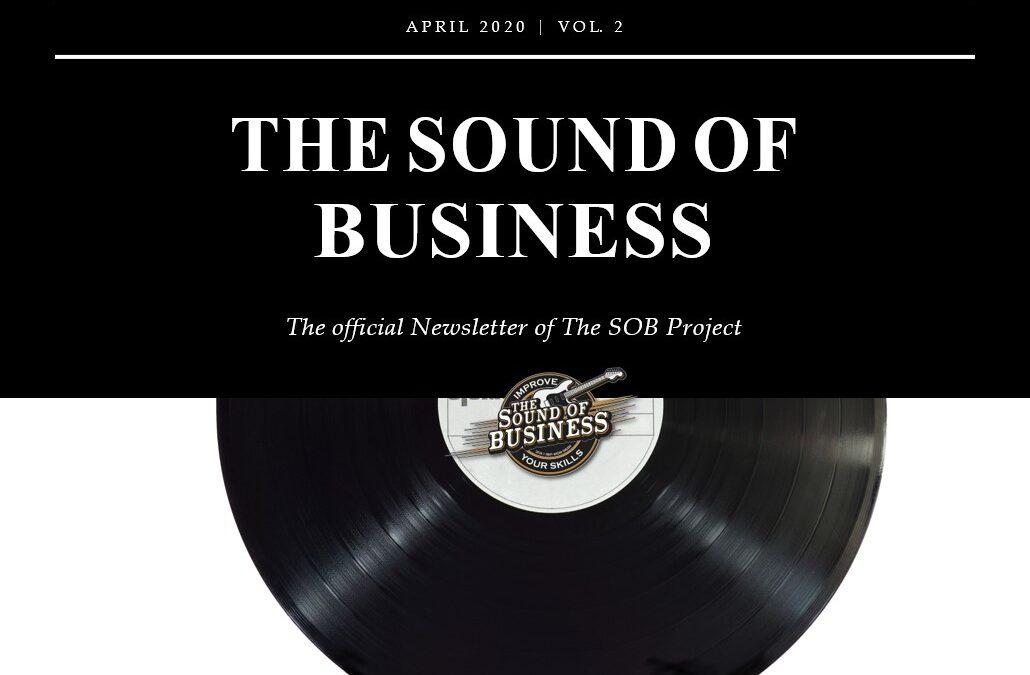 SOB Newsletter 2 cover